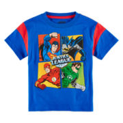 Justice League Graphic Tee – Todder Boys 2t-5t