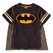 Batman Cape Tee – Toddler Boys 2t-5t