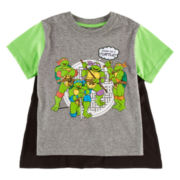 Teenage Mutant Ninja Turtles Cape Tee - Toddler Boys 2t-5t