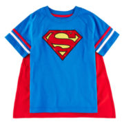 Superman Cape Tee – Toddler Boys 2t-5t
