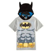 Batman Hooded Graphic Tee – Toddler Boys 2t-5t
