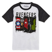 Avengers Raglan Graphic Tee – Boys 8-20