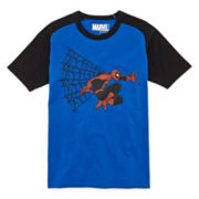 Spider-Man Raglan Graphic Tee – Boys 8-20