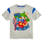 Avengers Short-Sleeve Graphic Tee - Preschool Boys 4-7