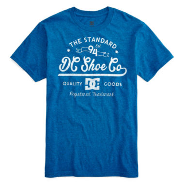 jcpenney.com | DC Shoes Co® Blue Standard Graphic Tee - Boys 8-20