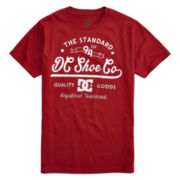 DC Shoes Co® Red Standard Graphic Tee – Boys 8-20