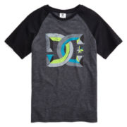 DC Shoes Co® Raglan Lazer Graphic Tee  - Boys 8-20