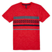 Distortion Short-Sleeve V-Neck Tee – Boys 8-20