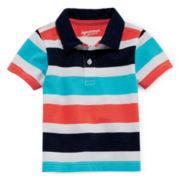 Arizona Striped Polo – Baby Boys 3m-24m