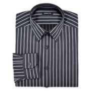 Claiborne® Wrinkle-Free Textured Dress Shirt