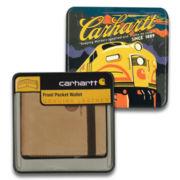Carhartt® Nubuck Front Pocket Wallet