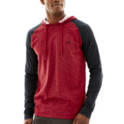 Vans® Baseblock Long-Sleeve Hooded Knit Shirt