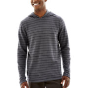 Vans® Nep Stripe Premium Hooded Knit Pullover