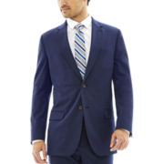 JF J. Ferrar® Slim-Fit Blue Stretch Suit Jacket