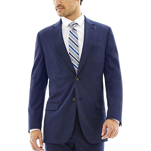JF J. Ferrar® Slim-Fit Blue Stretch Suit Jacket