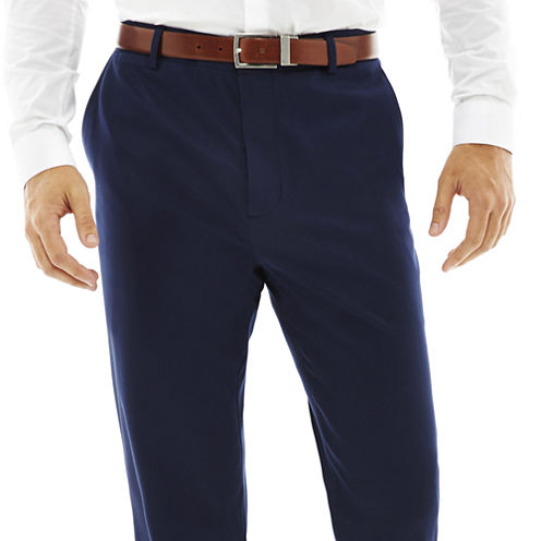 Men's JF J. Ferrar® Bright Blue Flat Front Stretch Super Slim Suit Pants