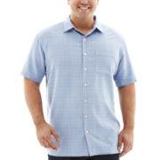 Van Heusen® Short-Sleeve Woven Shirt–Big & Tall