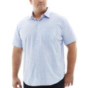 Van Heusen® Short-Sleeve No-Iron Woven Shirt–Big & Tall