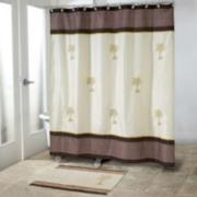 Avanti Oasis Palm Shower Curtain