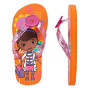 Disney Collection Doc McStuffins Flip Flops - Girls 5-12