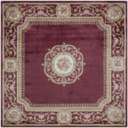 Momeni® Atlantis Hand-Carved Wool Square Rug