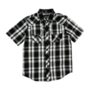 Chalc® Plaid Poplin Shirt - Boys 8-20