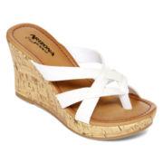 Arizona Carah Strappy Wedge Sandals
