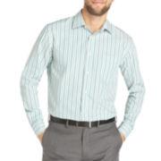 Van Heusen® Long-Sleeve Dobby Stripe Woven Shirt