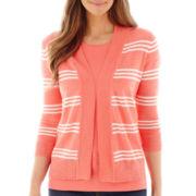 St. John's Bay® Open-Front Cardigan Sweater