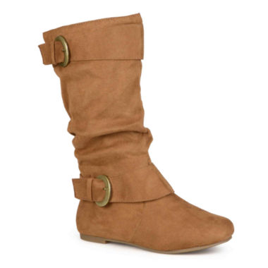 jcpenney.com | Journee Collection Shelley 12 Wide Calf Mid-Rise Slouch Boots
