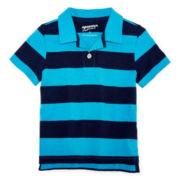 Arizona Short-Sleeve Striped Polo - Boys 2t-5t