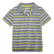 Arizona Short-Sleeve Striped Polo - Boys 2t-5t
