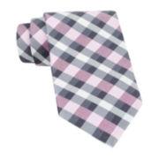 Claiborne® Soft Plaid Tie