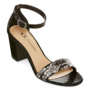 CL By Laundry Janella Ankle-Strap Sandals