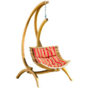 Topanga Wooden Hanging Chair