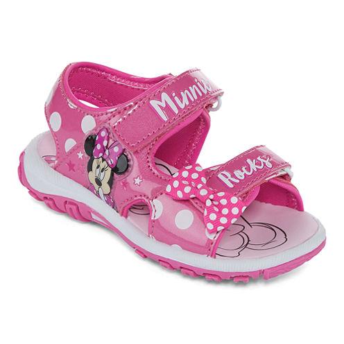 Disney® Minnie Mouse Girls Strap Sandal - Toddler