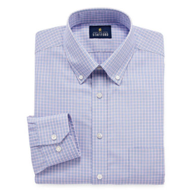 jcpenney.com | Stafford Executive Non-Iron Cotton Pinpoint Oxford Long Sleeve Dress Shirt