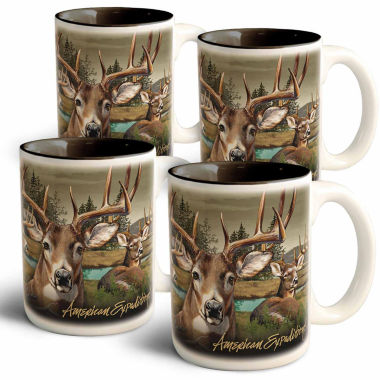jcpenney.com | American Expedition American Expedition 4-pc. Coffee Mug