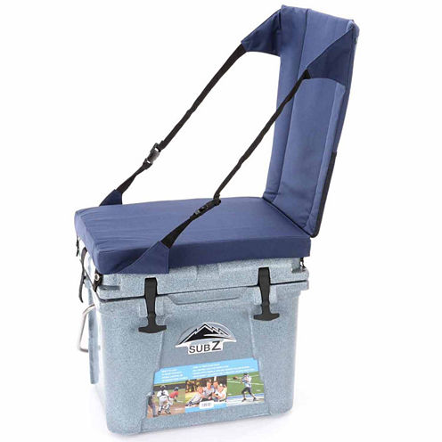 Nash 23 Quart Sub Z Cooler w/High Back Seat