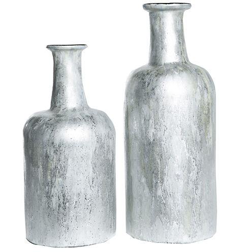 "Knox And Harrison 12"" Shimmering Decorative Bottles"