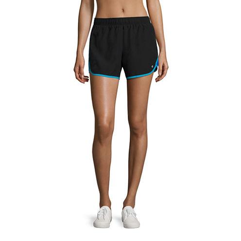 Xersion Woven Colorblock Run Shorts