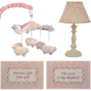 Cotton Tale Heaven Sent 4-pc. Décor Kit