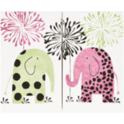 Cotton Tale Hottsie Dottsie 2-pc. Wall Art