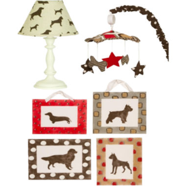 jcpenney.com | Cotton Tale Houndstooth 6-pc. Décor Kit