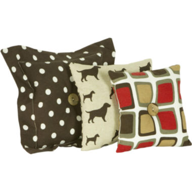 jcpenney.com | Cotton Tale Houndstooth 3-pc. Pillow Set