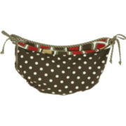 Cotton Tale Houndstooth Hanging Toy Bag