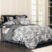 jcp home™ Toile Garden Quilt & Accessories