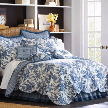 jcpenney.com | Toile Garden Quilt & Accessories