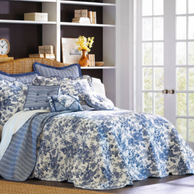 jcpenney.com | Toile Garden Bedspread & Accessories