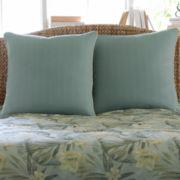 Paradise Island Pillow Sham or Euro Sham